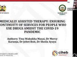 Dr. Tina Masai Presentation S;ide